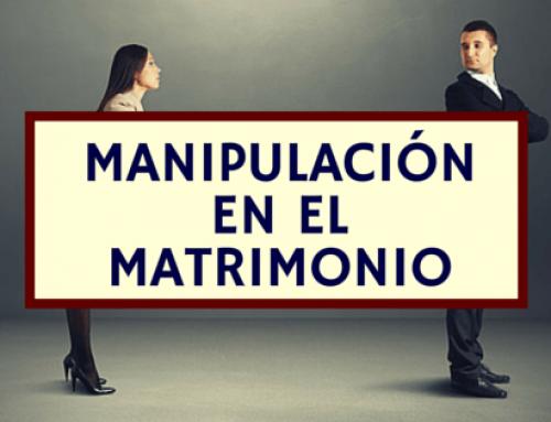 Manipulación en el matrimonio
