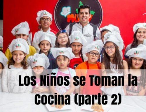 Los niños se toman la cocina (parte 2)