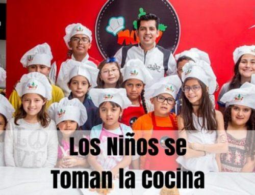 Los niños se toman la cocina