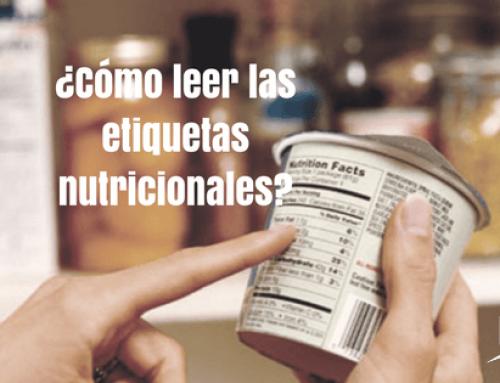 ¿Cómo leer etiquetas nutricionales?